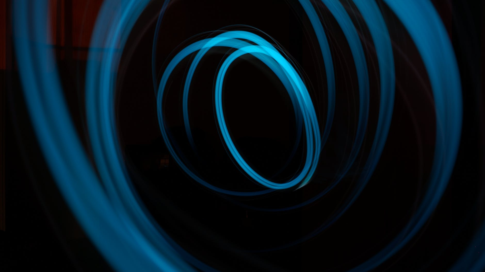 blue whirl illustration